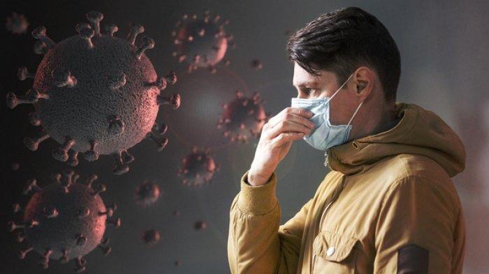 Ilustrasi mutasi virus corona yang masuk ke Indonesia.