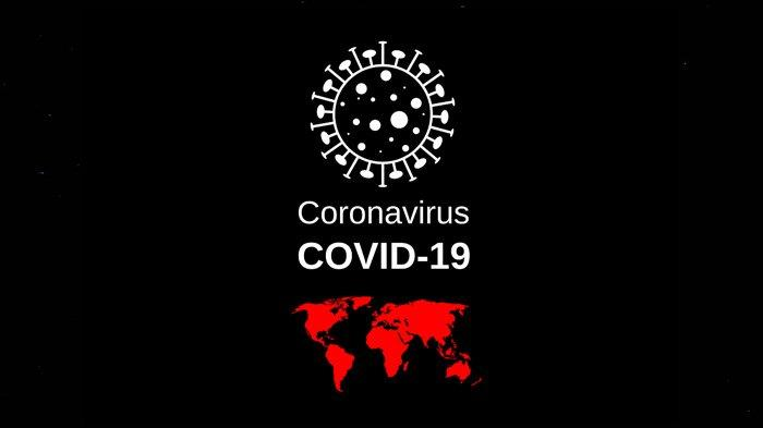 Ilustrasi pandemi virus corona.