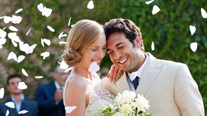 Ilustrasi Pasangan Menikah.
