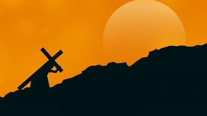 Ilustrasi memperingati Paskah.