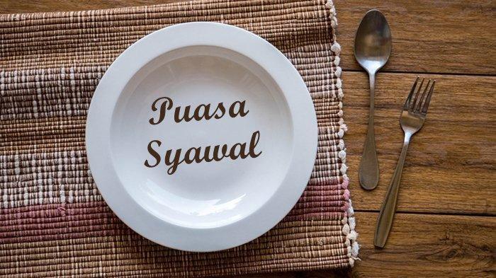 Ilustrasi piring kosong dan puasa syawal.