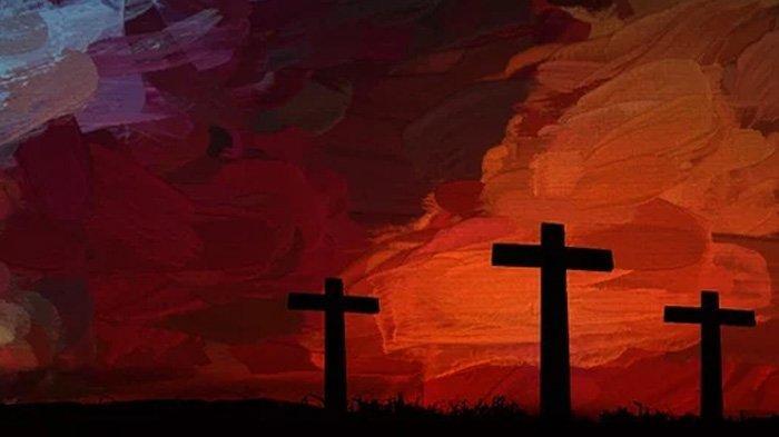 Ilustrasi salib.