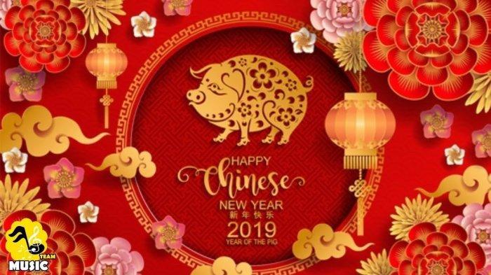 7 Kumpulan Kartu Ucapan Happy Chinese New Year 2019, dari Barongsai Hingga Bertema Tahun Babi