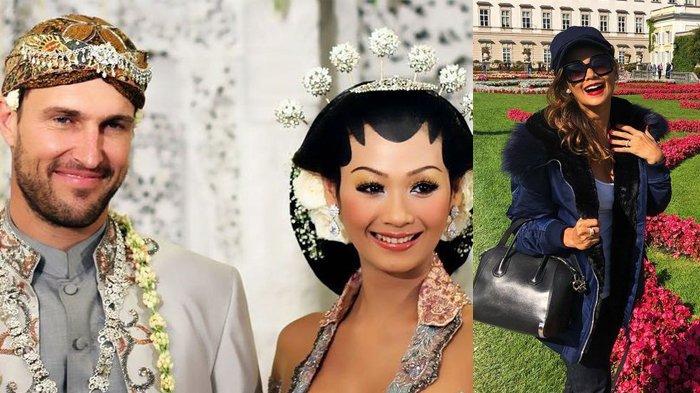 Indah Kalalo dan suaminya, Ibrahim Justin Werner