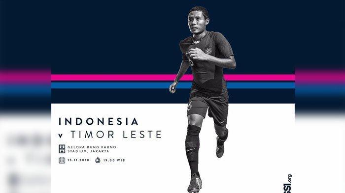 Saksikan Live Streaming RCTI Indonesia vs Timor Leste Piala AFF 2018 Malam Ini