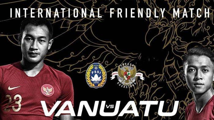 Jadwal dan Prediksi Timnas Indonesia vs Vanuatu FIFA Matchday Sabtu Malam Jam 18.30 WIB