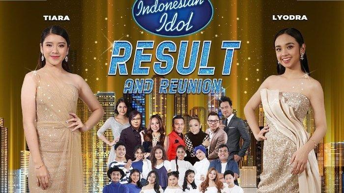 Live Streaming Indonesian Idol 2020 Malam Result and Reunion, Lyodra atau Tiara yang Jadi Pemenang?