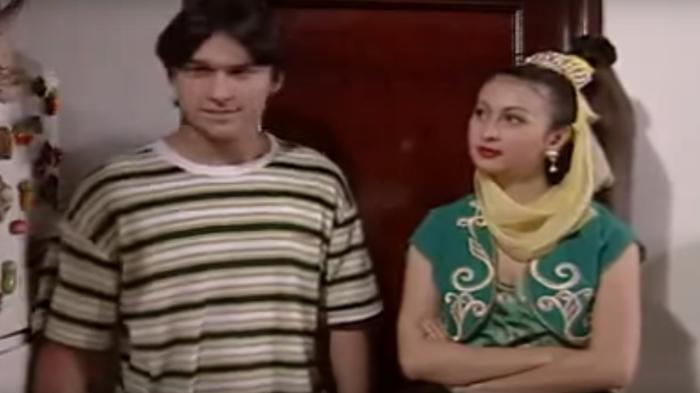 Indra L Bruggman dan Diana Pungky yang berperan sebagai Jinny