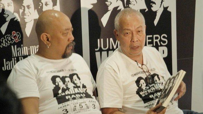 Kabar Duka Datang Dari Indro Warkop DKI, 'Beh Selamat jalan, Lo Udah Tenang Sekarang'