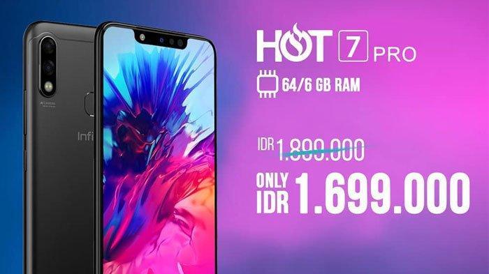 Resmi Rilis di Indonesia, Infinix Hot 7 Pro Usung Teknologi AI Smart Power Isi Daya hingga 10 W