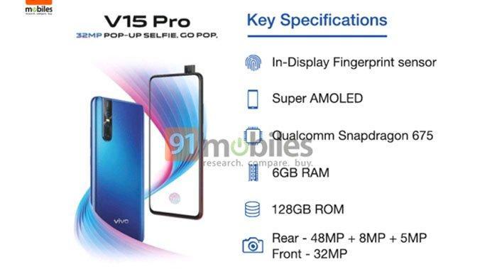 Spesifikasi dan Harga Vivo V15 Pro - Ini Sederet Fitur Menarik Smartphone Terbaru Februari 2019