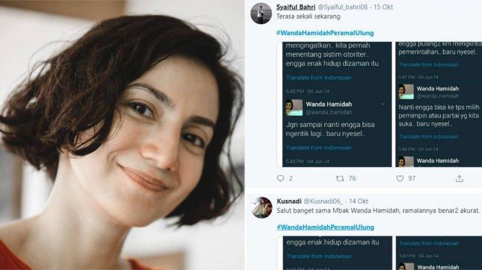 Ini Deretan Tweet Wanda Hamidah 5 Tahun Lalu yang Kembali Viral, Mantan Raffi Ahmad Dianggap Peramal