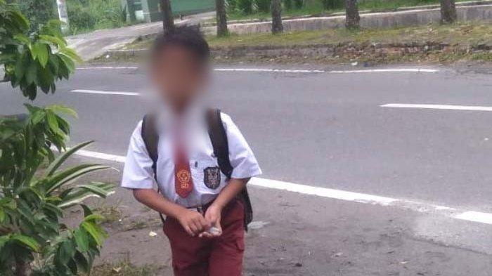 Inilah bocah Rangga, anak berusia 9 tahun yang tewas saat ikut membantu melawan pemerkosa ibunya