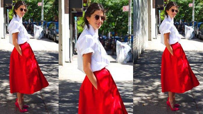 Tampil Kasual dan Modis saat Hari Kemerdekaan, Intip Inspirasi Padu Padan Outfit Bertema Merah Putih