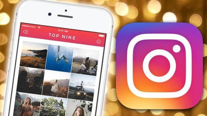 Cara Lihat Best Nine di Instagram, Cara Buat Bisa Pakai Aplikasi Top Nine atau Klik 2018bestnine.com