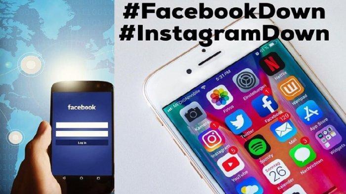 Instagram dan Facebook down