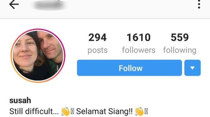 Miliki Nama 'Susah', Wanita Asal Australia Viral di Indonesia