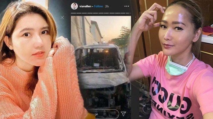 POPULER Ikut Tenangkan Via Vallen yang Mobilnya Hangus Dibakar, Inul Daratista Turut Prihatin