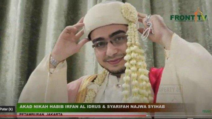 Irfan Alaydrus, menantu Rizieq Shihab.