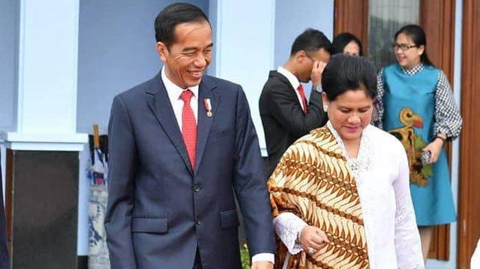 Dibocorkan Kaesang, Siapa Sangka Ini Kebiasaan Ibu Negara Iriana Jokowi Tiap Pagi di Istana Bogor