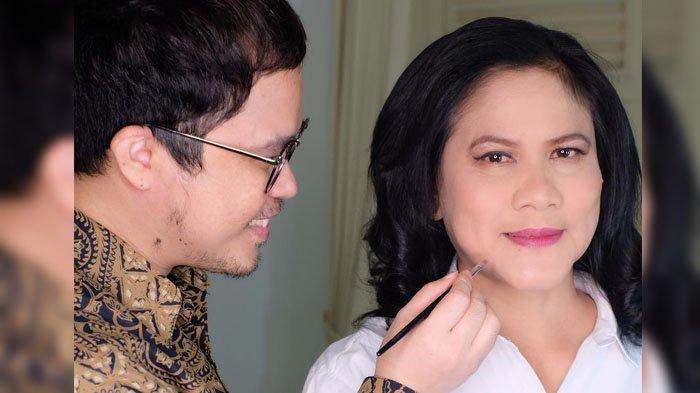 Curhat Make Up Artis Kondang Saat Dandani Iriana, Istri Presiden Jokowi Sampaikan Permintaan Ini