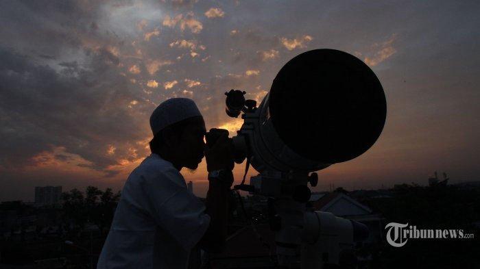 Breaking News - Hilal Sudah Terlihat, Idul Fitri 1439H/ 2018 Jatuh pada Hari Jumat, 15 Juni 2018!