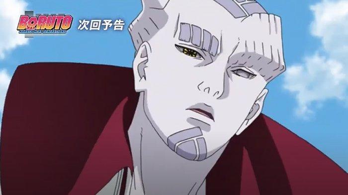 Isshiki Otsutsuki dalam anime Boruto.