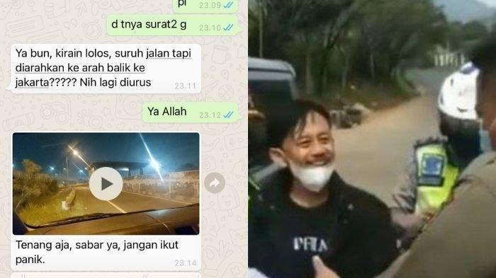 'Kang Mus' Dituding Lolos Penyekatan Gegara Artis, Istri Bongkar Chat Suami, Bungkam Hujatan Netizen