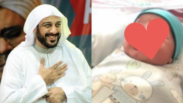 SELAMAT Istri Mendiang Syekh Ali Jaber Melahirkan, Diiringi Adzan Dzuhur, Ini Nama & Paras Sang Bayi