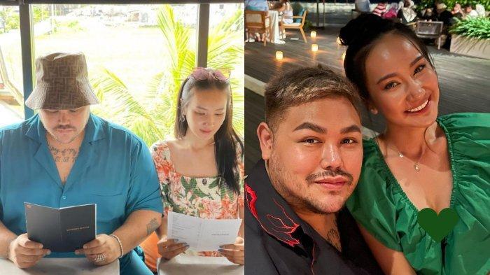 5 Fakta Kisah Cinta Ivan Gunawan & Bella Aprilia, Pamer Cincin Hingga Misteri '17 Januari 2021'