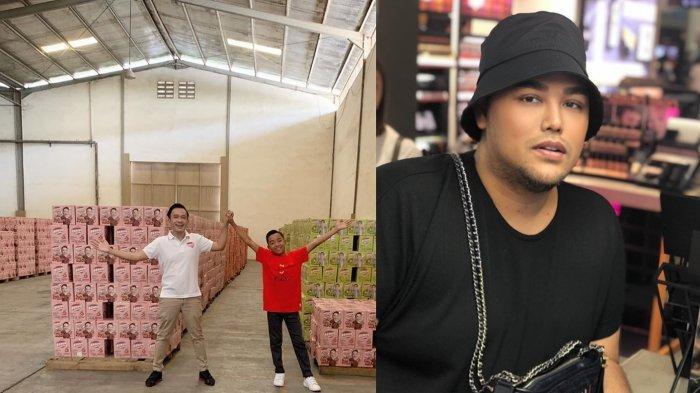 Betrand Peto Bikin Ivan Gunawan Iri karena Ditawari Pabrik Bensu Drink & Geprek Bensu oleh Ruben