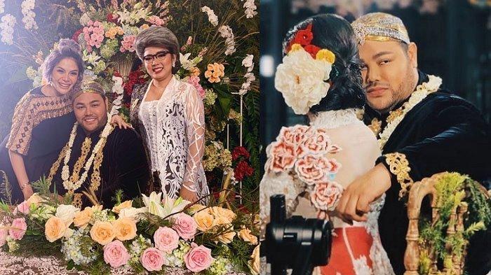 Beredar foto Ivan Gunawan kenakan busana pengantin.