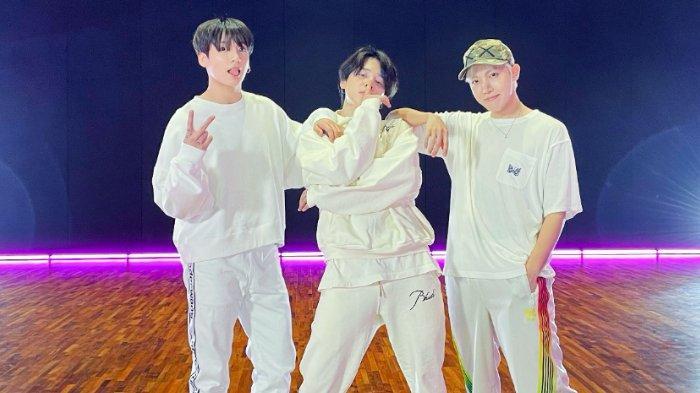 Sukses Dance Remix Butter, Intip Momen-momen Unit '3J' J-Hope, Jimin, Jungkook, ARMY Harus Lihat!
