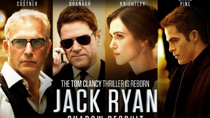Sinopsis Jack Ryan: Shadow Recruit, Agen AS Jadi Mata-mata Berbahaya di Rusia, Saksikan Malam Ini