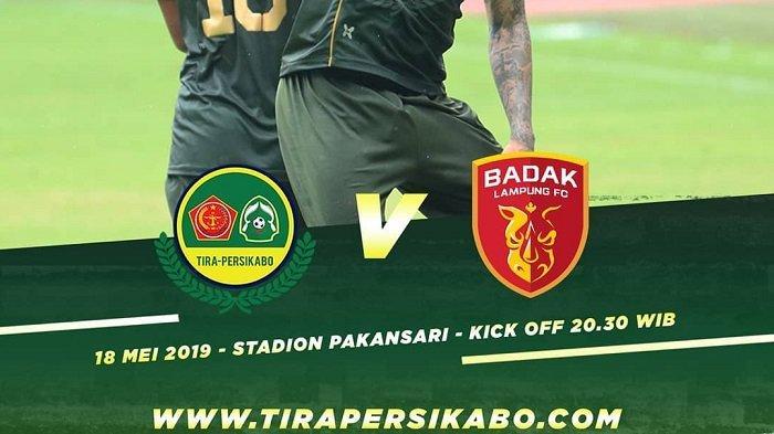 Jadwal dan Prediksi PS Tira Persikabo vs Badak Lampung FC, Pertandingan Shopee Liga 1