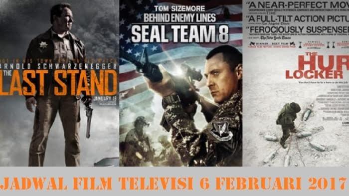 Jadwal Film TV Hari Ini - Spesial Buat Kamu Pecinta Sinema Ber-genre Perang!