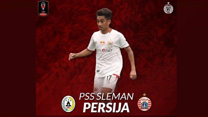 SESAAT LAGI - Live Streaming Indosiar PSS Sleman vs Persija Jakarta Piala Presiden Jam 18.30 WIB