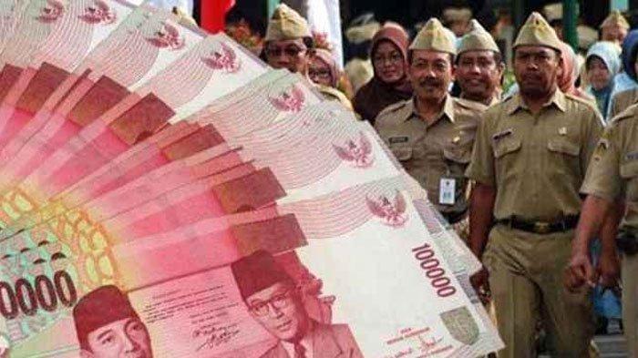 Jadwal Pencairan THR Lebaran untuk PNS dan TNI/Polri di Idul Fitri 1440 H, Cek Rinciannya