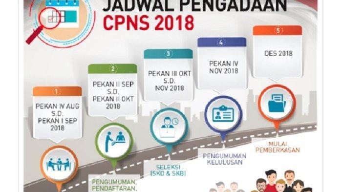 Jadwal Pengumuman Hasil Seleksi Administrasi CPNS 2018 hingga pengumuman akhir
