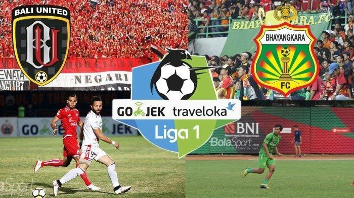 Jadwal, Prediksi dan Link Livestreaming Bali United vs Bhayangkara FC, Kejar Kemenangan Beruntun