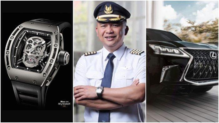 Penampakan Arloji Tengkorak Rp 7 M Ari Askhara Eks Dirut Garuda Indonesia, 3 Mobil Mewah & Rumahnya