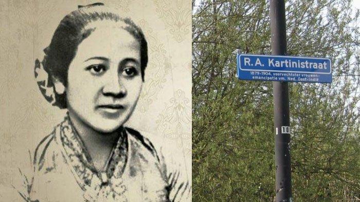 PENAMPAKAN 4 Ruas Jalan di Belanda dengan Nama 'Kartini' Bersebelahan Jalan M Hatta & Sutan Sjahrir