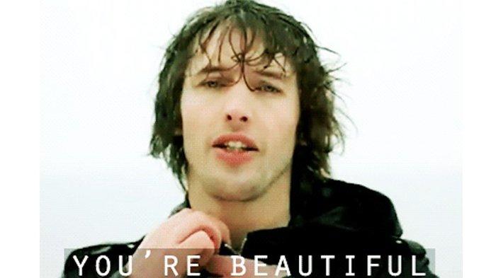 Mengejutkan Ternyata Lagu You Re Beautiful Dari James Blunt Bukan Lagu Romantis Sama Sekali Tribunstyle Com