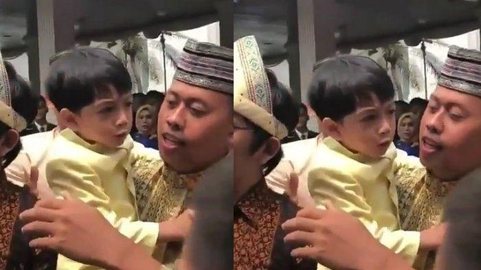 Selalu Menggemaskan, Video Jan Ethes Cucu Jokowi Ngambek & Menolak Difoto Penggemar Curi Perhatian