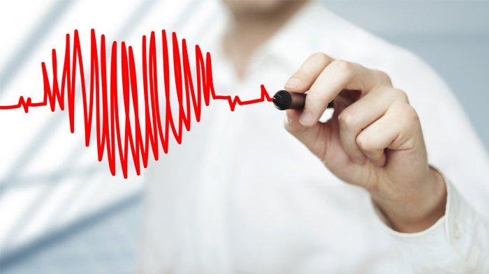 Ilustrasi jantung sehat.