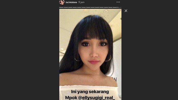 Elly Sugigi Tantang 10 Year Challenge, Lucinta Luna Langsung Jawab Pakai Foto 12 Tahun Lalu
