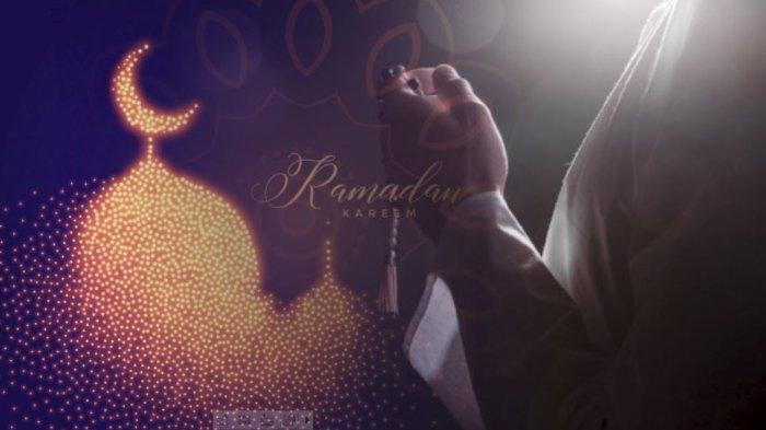 Ilustrasi bulan Ramadhan.