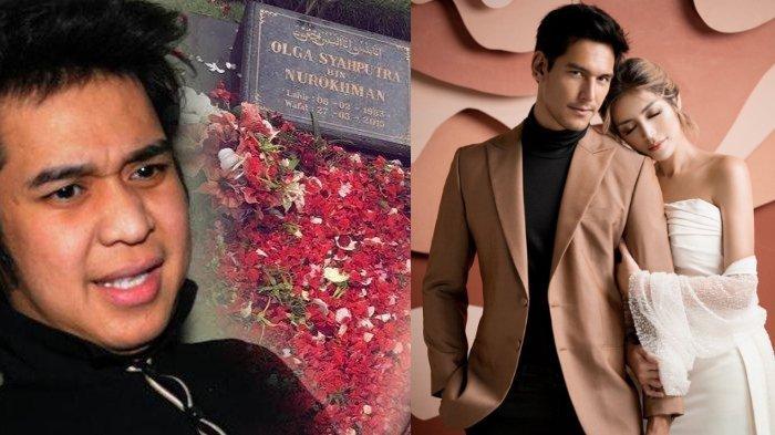 Jelang Pernikahan, Jessica Iskandar Ziarah ke Makam Olga Syahputra dan Perkenalkan Richard Kyle