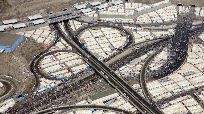 10 Foto Ibadah Haji saat 2,5 Juta Orang Berkumpul di Mekkah, Bak Lautan Manusia!
