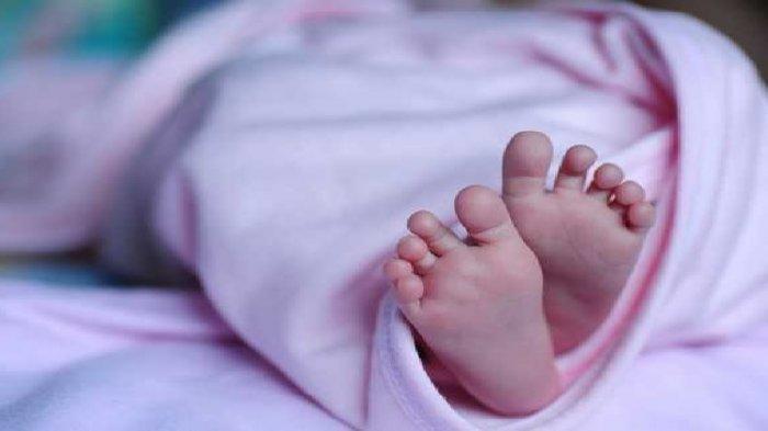 Ilustrasi jenazah bayi